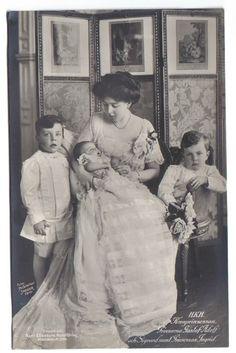 Margaret and her children