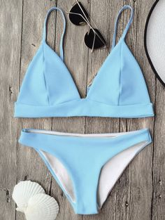 Cami Plunge Bralette Bikini Top and Bottoms A site with wide selection of trendy fashion style women's clothing, especially swimwear in all kinds which costs at an affordable price. Cute Swimsuits, Cute Bikinis, Women Swimsuits, Bikini Sets, The Bikini, Bikini Bottoms, Bikini Ready, Bikini Models, Summer Bathing Suits