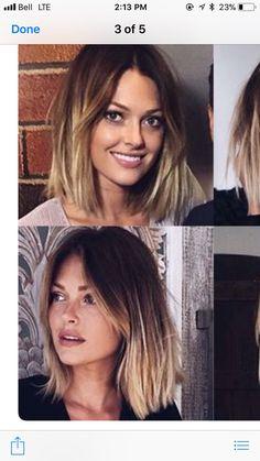 Curtain Bangs, Long Bangs, Blonde Bobs, Good Hair Day, Blonde Highlights, Pretty Face, Cute Hairstyles, Short Hair Cuts, Her Hair