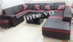 Sofa phòng khách chữ U-1