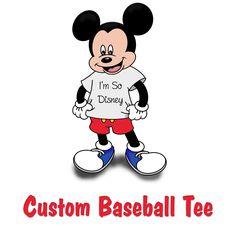 Custom Baseball Tee