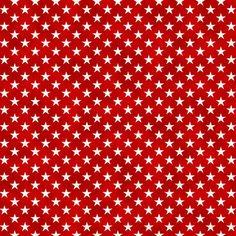 Liberty Ride Digital Print Fabric Red and White Stars Northcott Premium Cotton #Northcott