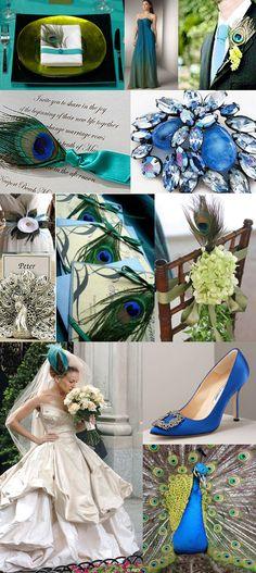 Peacock inspiration.