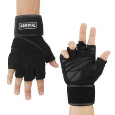 Trideer Weight Lifting Gloves with Wrist Wraps Support, Pro Padded Gym Gloves for Powerlifting, Cross Training, Workout, Best for Men and Women (PAIR) *** You can get more details by clicking on the image. (This is an affiliate link) Best Weight Lifting Gloves, Weight Training Gloves, Weight Lifting Workouts, Fun Workouts, Crossfit Gloves, Gym Gloves, Workout Gloves, Fitness Gloves, Hand Gloves