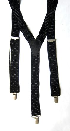 Mid century German PCT  black and white fleck mens by evaelena, $32.00