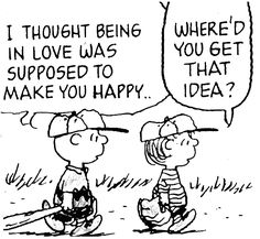 Charlie Brown's mistaken notion of love