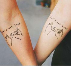 Together Forever   #BodyArt #Tattoos #TattooIdeas #CoupleTattoos