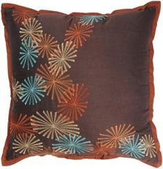 Square Throw Pillow - Poly Staple (T-2669) - (Set of 2) - 18-inch. Square Throw Pillow - Poly Staple Fabric (T-2669) - 18 x 18 Decorative pillows add color, texture and pattern to the home decor. The shapes, colors, patterns, fabrics and sizes are all pressed into service at Hometexco to pro.. . See More Decorative Pillows at http://www.ourgreatshop.com/Decorative-Pillows-C685.aspx