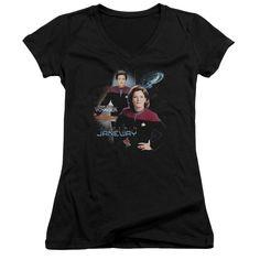 Star Trek/Captain Janeway Junior V-Neck in