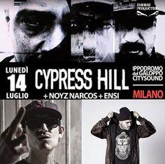 ELADIO prezinta : Hip-Hop Din Romania: Cypress Hill @ Milano (Italia) (14 iulie) (Noyz Na...