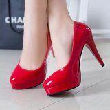 Giày cao gót nữ thời trang, trơn màu tôn dáng, kiểu sang trọng