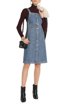 M.I.H JEANS Buttoned denim dress