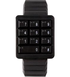 Black Keypad Watch