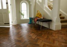 Wood Flooring | Karndean Art Select Parquet Auburn Oak Vinyl AP02 - window