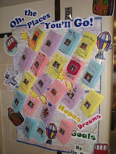 Dr. Seuss door decorating