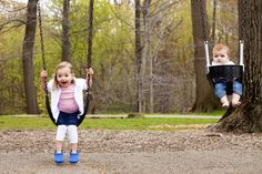 Swings! #Cleveland #childportraitsession #candid