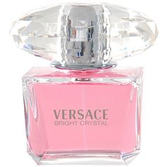 Versace Bright Crystal Women 3-ounce Eau de Toilette SP (160 BRL) ❤ liked on Polyvore featuring beauty products, fragrance, perfume, makeup, flower fragrance, eau de toilette perfume, perfume fragrances, flower perfume and versace perfume