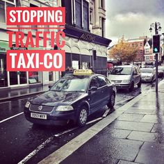 Not one given. Taxi parked illegally holding up traffic in Derry. #taxi #taxi-co #derry #traffic #parkingfail