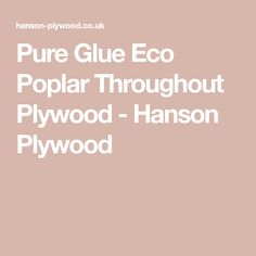 Pure Glue Eco Poplar Throughout Plywood - Hanson Plywood Reclaimed Kitchen, Wood Paneling, Plywood, Pure Products, Wooden Panelling, Hardwood Plywood