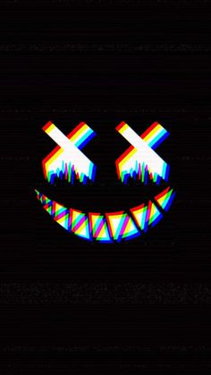 Dead Smile Glitch IPhone Wallpaper - IPhone Wallpapers