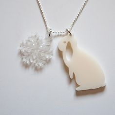 Snowflake Necklace | Lopshop