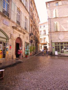 The Square at Pezenas, France