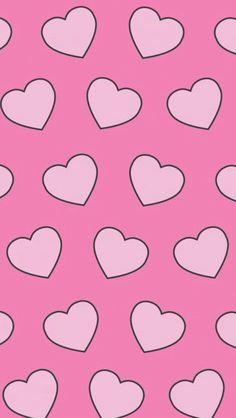 Обои iPhone wallpaper hearts
