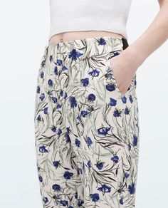 Image 5 of PRINTED TROUSERS from Zara