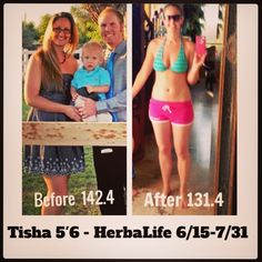 This is my sister in law Tisha! She just stuck with it and quickly got results !  Lose weight by drinking the best tasting meal replacement shakes ever. You will honestly love them ! It's 80% about nutrition (what you eat) and only 20% about what you do (fitness) . Let me help you with that 80%!  Text or call me I can help you reach your goals! 480 252 2999