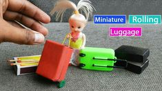 Miniature Rolling Luggage
