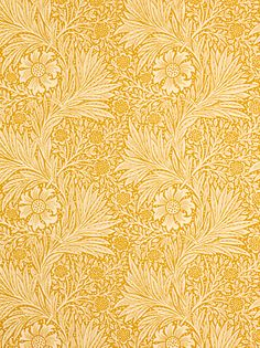 Sanderson Wallpaper, Morris & Co Marigold, Cowslip, 210370