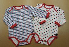 Bodys - Suzi.Ramone Baby-Body Set 2x langarm - ein Designerstück von ByRamone bei DaWanda