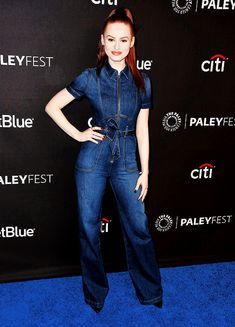 Madelaine Petsch arrives at PaleyFest 2018 in Los Angeles (March 25)