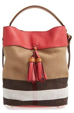 Burberry 'Medium Susanna' Bucket Bag | Nordstrom