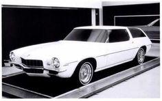 '72 Camaro Wagon Concept