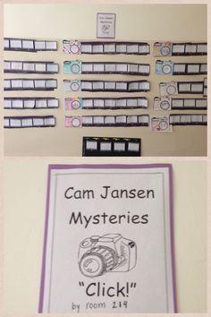 Cam Jansen book reports