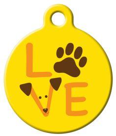 Cute dog tag!
