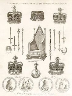 Crown jewels and Throne****
