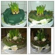 Images that inspire me to get started on my own. A spring cake Easter Flowers, Diy Flowers, Spring Flowers, Flower Decorations, Deco Floral, Arte Floral, Spring Flower Arrangements, Floral Arrangements, Flower Crafts