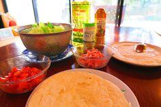 #tortilla #tomato #ham