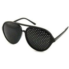 27090a69649 Fashion Vision Care Pinhole Pin Hole Eye Eyes Glasses Eyewear by Neewer.   3.50. Benefits of pinhole glasses     Myopia (short sightedness)    Hyperopia (long ...