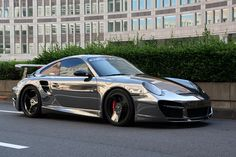 Chrome Porsche 997 Turbo