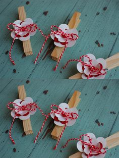 FanyCraft: Мартенички (реколта 2013), мартеница, martenitsa Spring Activities, Craft Activities For Kids, Christmas Crafts For Kids, Diy Christmas Gifts, International Craft, Diy And Crafts, Arts And Crafts, How To Make A Pom Pom, Quilling Designs