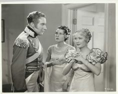 "Miriam Hopkins Frances DEE Alan Mowbray IN ""Becky Sharp"" Original Vint 1935 