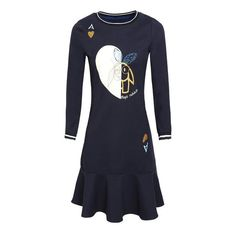 d10effb4d7 Dresses Mermaid Ruffles Vestidos Casual Women O-Neck Printed Pullover Dress  Womens Cashmere Warm Winter