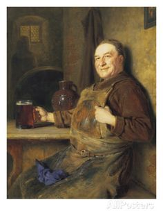 efdb027997eb5 The Brewmaster s Break Giclee Print by Eduard Von Grutzner