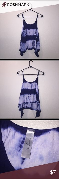 Mahina Small Blue and White Tie Dye Top Mahina Small Blue and White Tie Dye Top mahina  Tops