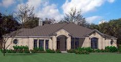 Elevation of Colonial   Traditional   House Plan 75115