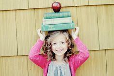 vintage pretty: Bittersweet moment...Kindergarten pictures!