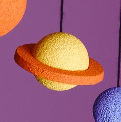 How to make Saturn for the Solar System Mobile